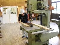 Processing materials