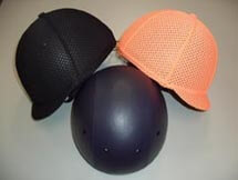 Helmet for training, and mesh helmet that lets air through.