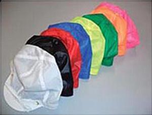 レース用色帽子(ヘルメットに被せて使用)