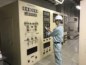 特高受変電設備巡視点検