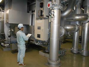 空調熱源設備巡視点検