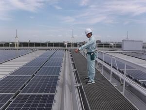 太陽光発電設備巡視点検